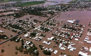 Flooded Bundaberg North January 2013