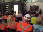 Hi-vis vests & hardhats at the Iron Junction launch